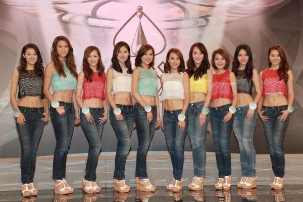 《香港小姐竞选》10强名单公布